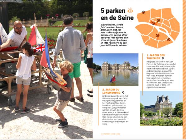 Parijs met kinderen-Parken
